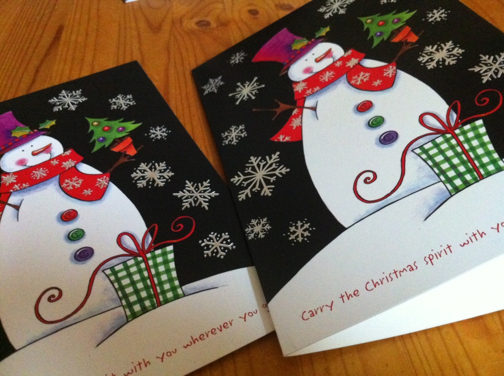 Those Little Christmas Card Boxes (1/6)