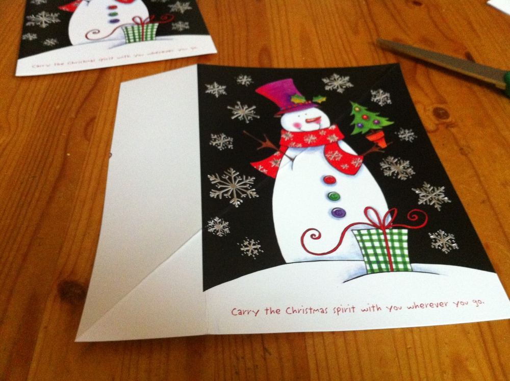 Those Little Christmas Card Boxes (3/6)