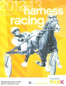 harness racing at Northlands 001
