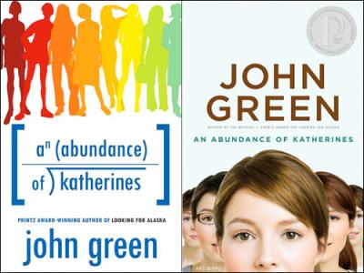 An Abundance of Katherines, by John Green