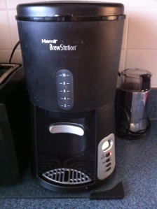 Step One:  Push the Brew Button