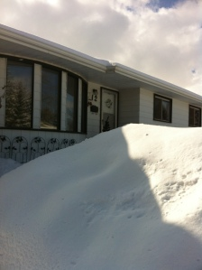 The front of my house.