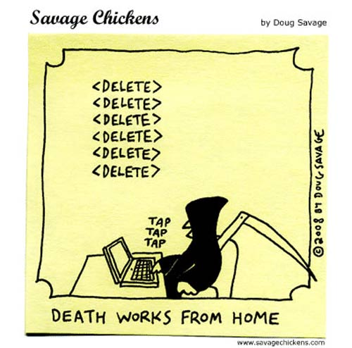 death works from home
