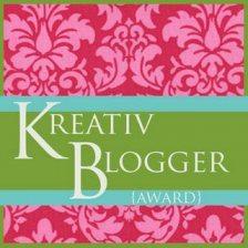 award kreativ blogger