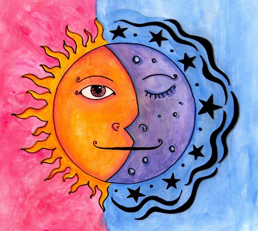 moon and sun - 900×805