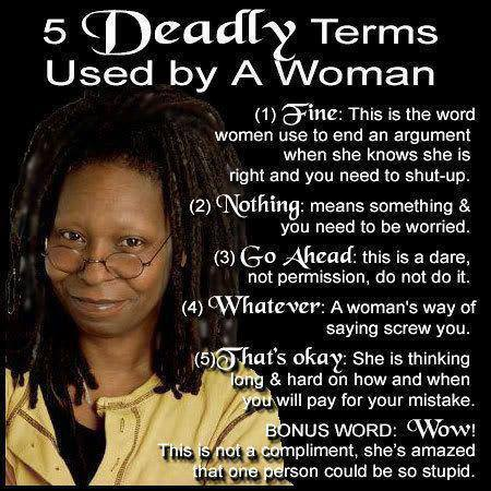 womans terms