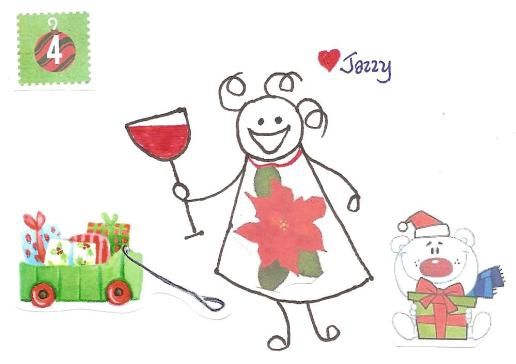 Tis the season to get frazzled.  Unless you're like me and have been stocking up on the Christmas wine since July.