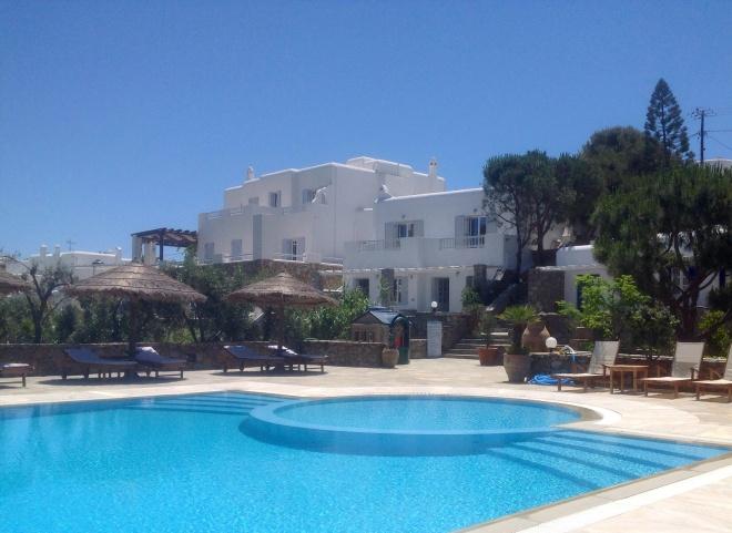 Kamari Hotel, Mykonos, Greece