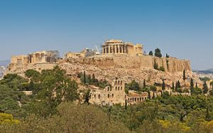 Parthenon/Acropolis/Athens, Greece http://en.wikipedia.org/wiki/Ancient_Greek_temple