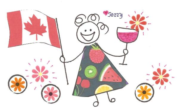 "Happiness is being proud to say ""I AM CANADIAN!"""