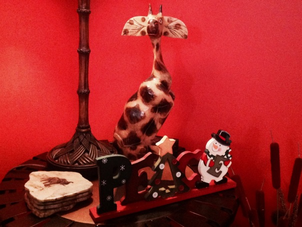 Nothing says Peace quite like an alien giraffe.